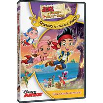 DVD Jake e os Piratas  Salvando a Terra do Nunca - Rimo
