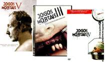 DVD Jogos Mortais Kit com 3 DVDs - Combo