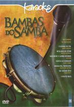 Dvd - karaoke bambas do samba - Eve