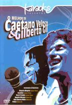 Dvd - karaoke melhor de caetano veloso  gilberto gil - Eve