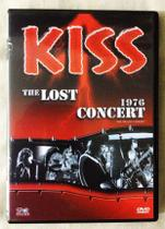 DVD Kiss The Lost Concert 1976 - Nbo