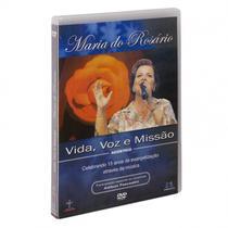 DVD Maria do Rosário - Vida, Voz e Missão - Armazem