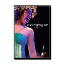 DVD Maria Rita - Segundo ao Vivo - Warner 825646293223 -
