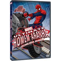 DVD Marvel Ultimate - Homem Aranha Tecnologia Aranha -