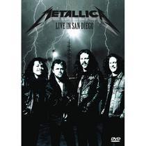DVD Metallica Live In San Diego - Radar