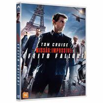 DVD - Missão Impossível - Efeito Fallout - Paramount Filmes