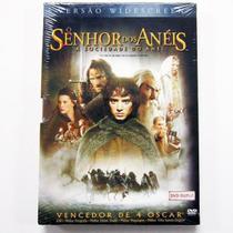 DVD O Senhor dos Aneis A Sociedade do Anel - 2DVDs Warner 7892110027939 -
