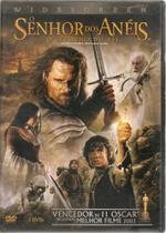 DVD o Senhor Dos Anéis o Retorno Do Rei - Warner