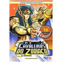 DVD - Os Cavaleiros do Zodíaco - Vol 10 - Playarte
