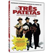 DVD Os Três Patetas Ao Vivo e Hilários - Nbo
