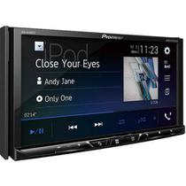 DVD Pioneer 2 Din Avh-A4180Tv Bluetooth Tela 7 Pol Tv Gps Waze Spotify