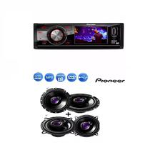 Dvd Pioneer Dvh-7880av Tela 3 Usb e Par Auto Falante Pioneer 5' Ts1360 e  Par 6' Ts1760 200w -