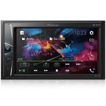 "Dvd Pioneer MVH-G218BT 2 Din Tela 6,2"" USB e Bluetooth - Pionner"