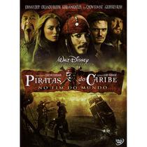 DVD - Piratas do Caribe 3 - No Fim do Mundo - Disney