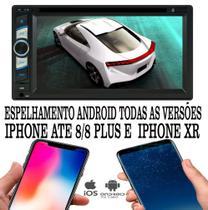 Dvd Player 2 Din E-tech Bluetooth Usb Sd -