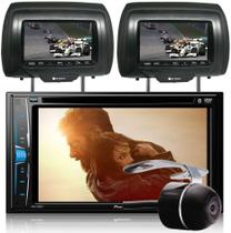 DVD Player Automotivo 2 DIN Pioneer AVH-A208BT Tela 6,2