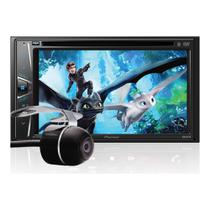 DVD Player Automotivo 2 DIN Pioneer AVH-G218BT Tela 6,2