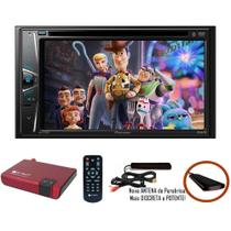 DVD Player Automotivo 2 DIN Pioneer AVH-G228BT Bluetooth Com Entrada USB + Sintonizador TV Digital - Pioneer / E-Tech