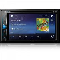 "DVD Player Automotivo 6,2"" AVHA208BT Preto Pioneer -"