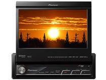 DVD Player Automotivo MP3 USB 7 polegadas - Tela Retrátil Touch Screen - Pioneer AVH-P5180DVD