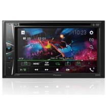 DVD Player Automotivo Pioneer 2 Din AVH-G218BT - Tela 6.2' - USB, Aux e Bluetooth