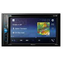 DVD Player Automotivo Pioneer AVH-A208BT 2-DIN Tela de 6,2