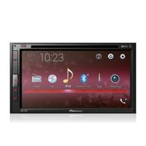 DVD Player Automotivo Pioneer AVH-A318BT 2Din 6,8 Polegadas Leitor CD Bluetooth USB FM AUX Entrada Câmera de Ré