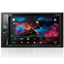 DVD Player Automotivo Pioneer AVH-G218BT Tela 6,2 DVD USB Bluetooth e AUX -
