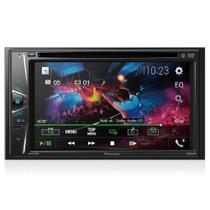 "DVD Player Automotivo Pioneer AVH-G228BT Tela 6.2"" Touchscreen Bluetooth Radio AM/FM -"