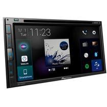 DVD Player Automotivo Pioneer AVH-Z5280TV 2 DIN Tela Touch 6.8 USB Bluetooth TV Digital -