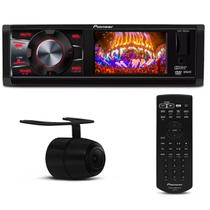 DVD Player Automotivo Pioneer DVH-7880AV 1 Din 3 Po USB AUX MP3 + Câmera Ré Colorida 2 em 1 - Prime