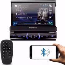 Dvd player automotivo positron 1din sp6330 bluetooth 7