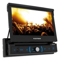 Dvd Player Automotivo Positron SP6330BT Retrátil Tela 7'' DVD/Bluetooth/USB/SD/AUX/FM/Espelhamento -