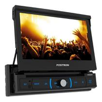 Dvd Player Automotivo Positron SP6330BT Retrátil Tela 7  DVD/Bluetooth/USB/SD/AUX/FM/Espelhamento -