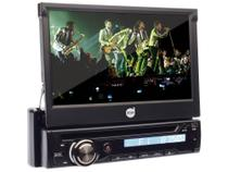 "DVD Player Automotivo Retrátil Dazz DZ-5215BT  - Tela 7"" Touch Bluetooth Entrada Auxiliar e USB -"