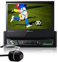 DVD Player Automotivo Retrátil Pioneer AVH-Z7280TV Tela 7 Polegadas Com TV Digital Bluetooth USB + Câmera de Ré -