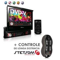 "Dvd Player Avh-3880Dvd 7"" 1Din Entrada Usb Am Fm Retrátil + Controle SX2 Grafite - Pioneer"