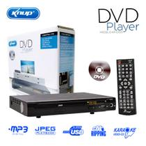Dvd Player karaokê KP-D103 Knup Usb Mp3 Cd Ripping Media Player Rca Bivolt