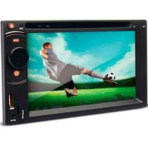Dvd Player Multimídia Dazz DZ-52216BT DTU Tela 6.2 Cd Usb Touch Screen Bluetooth TV Digital -