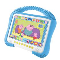 DVD player PEPPA PIG Kids portátil c/ tela 7, USB, dolby digital e MP3 Tec Toy - Tectoy