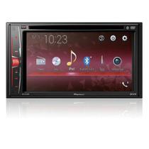 Dvd Player Pioneer 6,2' 2 Din Avh-A218bt Bluetooth Usb Entrada Câmera Comando -