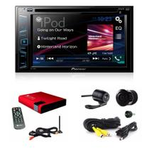 Dvd Player Pioneer Avh-208bt Bluetooth 278 + Camera + Tv Dig -