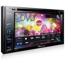 Dvd Player Pioneer Avh-288bt 6.2 Polegadas 2 Din Bluetooth Usb Aux -