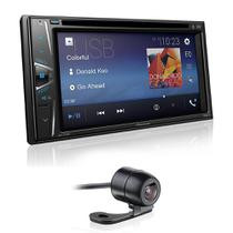 DVD Player Pioneer AVH-G218BT 2Din 6,2 Polegadas Leitor CD Bluetooth USB FM AUX + Câmera de Ré - Gold
