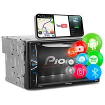"DVD Player Pioneer AVH-G228BT 6.2"" 2 Din Touch Screen Bluetooth CD DVD USB AUX RCA FM AM MP3 WMA -"