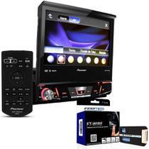 """DVD Player Pioneer AVH-X7880TV 7"""" Retrátil TV Bluetooth USB Mixtrax com Interface de Volante -"""