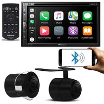 DVD Player Pioneer AVH-Z5280TV 6.8'' Bluetooth Espelhamento Android iOS USB + Câmera de Ré