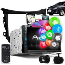 DVD Player Pioneer AVH-Z5280TV HB20 Hatch Sedan 12 a 18 6.8'' Bluetooth Espelhamento + Câmera de Ré -
