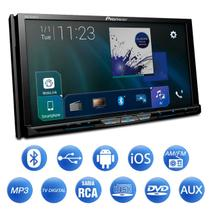 "DVD Player Pioneer AVH-Z9280TV 7"" Bluetooth Espelhamento Wi-Fi Android iOS TV CD DVD USB HDMI MP3 -"