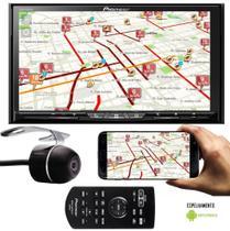 DVD Player Pioneer AVH-Z9280TV Tela 7 Polegadas TV Digital Espelhamento Android Bluetooth USB Conexão HDMI Entrada Auxiliar + Câmera Ré -